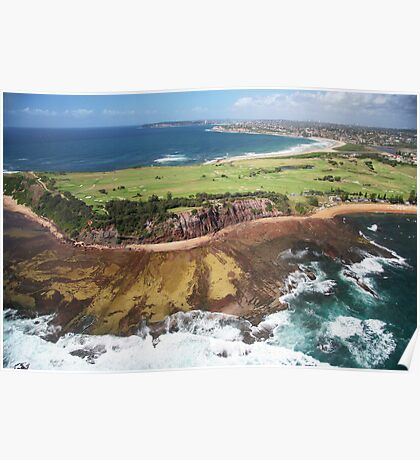 Long Reef Point, from the air Poster