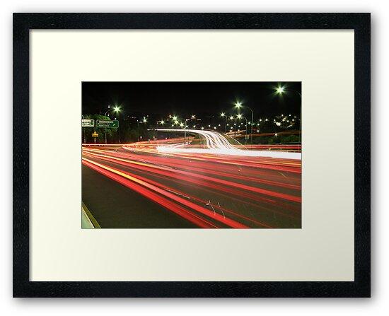 Traffic Trails by Roger Barnes