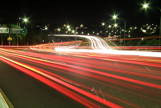 Traffic Trails by Roger Barnes