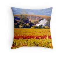 Napa Winery Throw Pillow