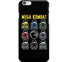 Mega Kombat iPhone Case/Skin