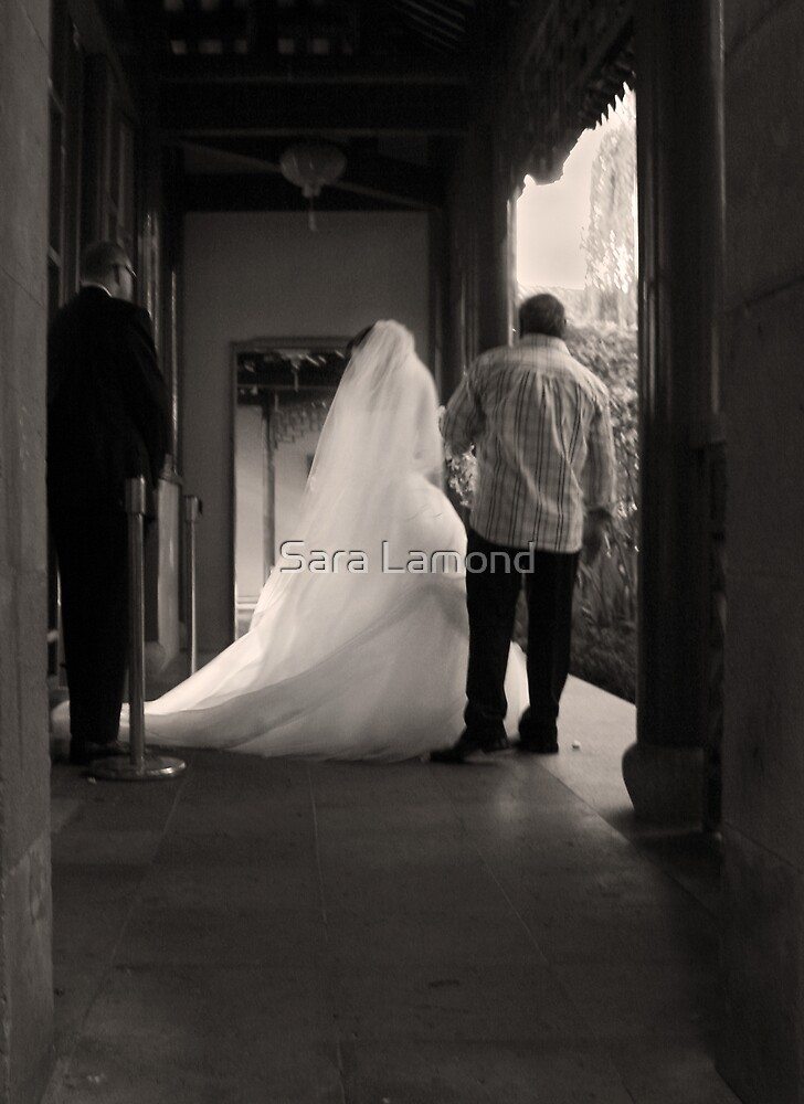 Stolen moment - Waiting to begin by Sara Lamond