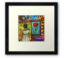 Looking for Inspiration in ALL the RIGHT Places Framed Print