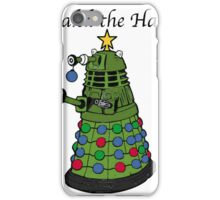 Dalek the Halls iPhone Case/Skin