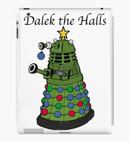 Dalek the Halls iPad Case/Skin