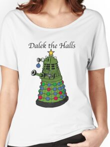 Dalek the Halls Women's Relaxed Fit T-Shirt