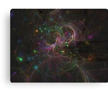Color Splat | Fractal Starscape Canvas Print