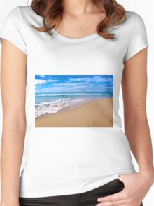 Surfer's Paradise - Gold Coast, Queensland Women's Fitted Scoop T-Shirt