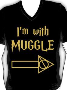 I'm with Muggle T-Shirt