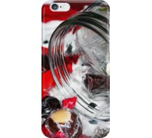 Christmas Candy Jar iPhone Case/Skin