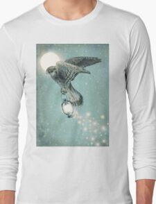 Nighthawk (portrait format) Long Sleeve T-Shirt
