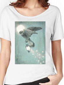 Nighthawk (portrait format) Women's Relaxed Fit T-Shirt