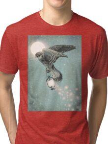 Nighthawk (portrait format) Tri-blend T-Shirt