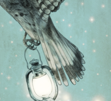 Nighthawk (portrait format) Sticker