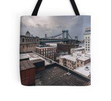 New York Bridge Tote Bag