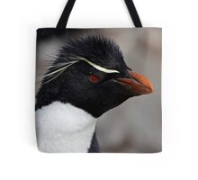 "Rockhopper Penguin ~ ""Spunky"" Tote Bag"