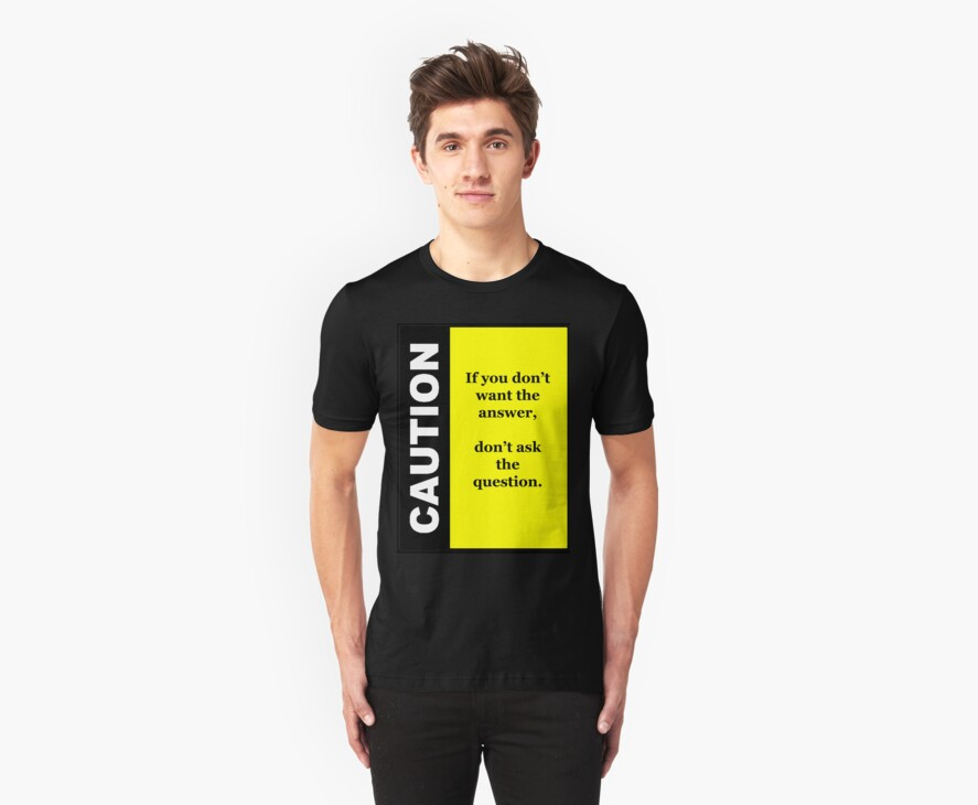 Queston T-shirt by Michael Reimann