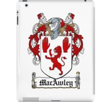 MacAwley (Ulster) iPad Case/Skin