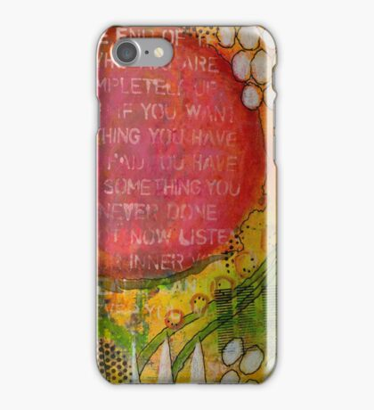 Floating Wisdom iPhone Case/Skin