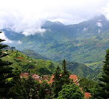 The City in the Mountains - Sa Pa, Vietnam. by Tiffany Lenoir