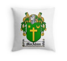 MacAdam (Co. Clare) Throw Pillow