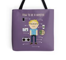 How To Be A Hipster Tote Bag