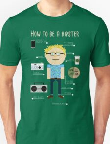 How To Be A Hipster T-Shirt