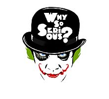 Why So Serious Graffiti Edit Photographic Print