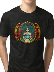 Ys (Turbografx) Title Screen Tri-blend T-Shirt