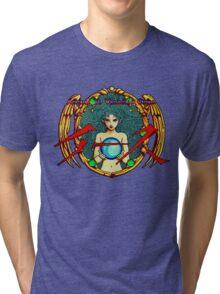 Ys (Turbografx) Title Screen Tri-blend T-Shirt