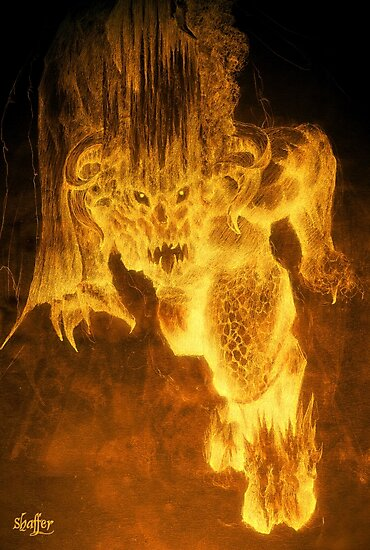 Balrog of Morgoth by Curtiss Shaffer