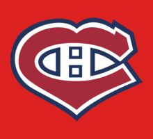 Habs in my Heart Large logo T-Shirt