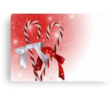 Hard Candy Christmas Canvas Print