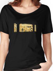Sunset Cyber Women's Relaxed Fit T-Shirt