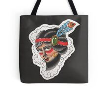 The Bearded Lady Tote Bag