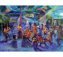 Airlie Beach Music Festival - Opening night Jam Photographic Print