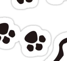 Paw Prints T-Shirt Sticker
