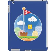 Mario Was Here iPad Case/Skin