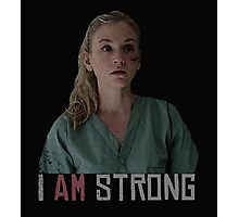 I AM Strong. Photographic Print