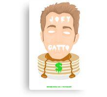 joey gatto = pancakes & $$ Canvas Print