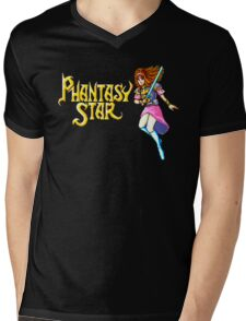 Phantasy Star (Genesis) Title Screen Mens V-Neck T-Shirt