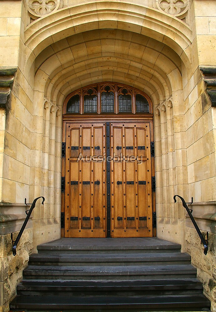 Doors to higher learning. by Aussiebluey