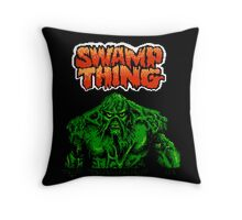 Swamp Thing (Nes) Title Screen Throw Pillow