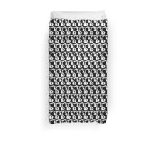 BLACK and WHITE in KING, QUEEN or TWIN DOUVET Duvet Cover