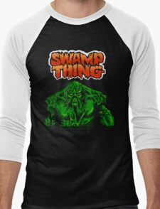 Swamp Thing (Nes) Title Screen Men's Baseball ¾ T-Shirt