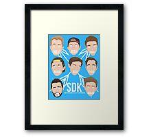 sdk af or nah!! Framed Print