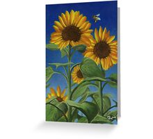 Sunny Bumble Greeting Card