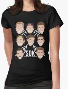 sdk af or nah!! Womens Fitted T-Shirt