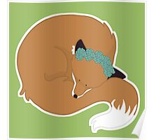 Sleeping Fox Poster