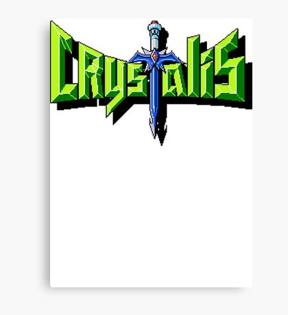 Crystalis (Nes) Title Screen Canvas Print